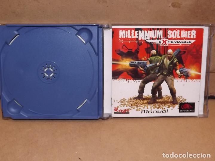 Videojuegos y Consolas: Dreamcast Millennium Soldier Expendable - sega - Foto 3 - 219289852