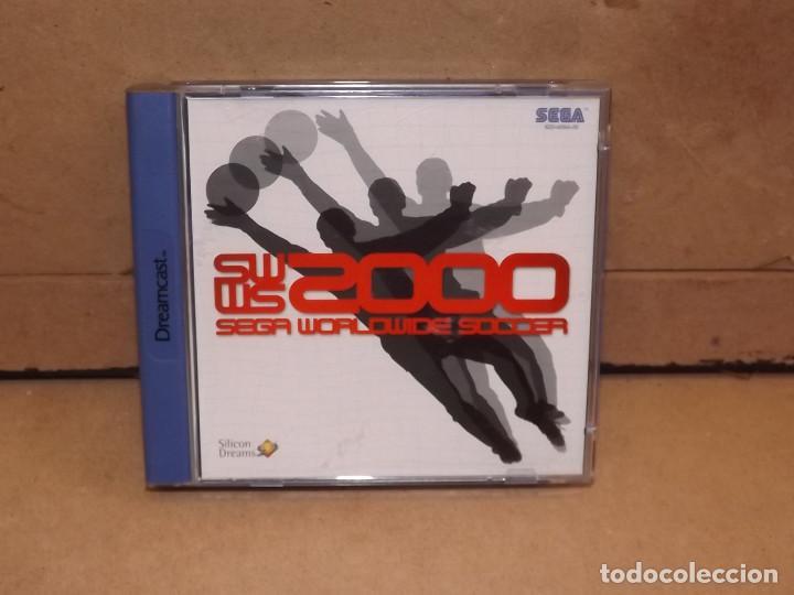 DREAMCAST WORLDWIDE SOCCER 2000 - SEGA (Juguetes - Videojuegos y Consolas - Sega - DreamCast)