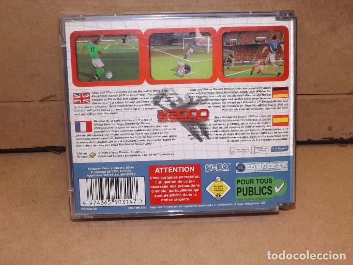 Videojuegos y Consolas: DREAMCAST WORLDWIDE SOCCER 2000 - SEGA - Foto 4 - 219290662