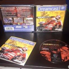 Videojuegos y Consolas: JUEGO DUCATI WORLD DREAMCAST. Lote 219362773