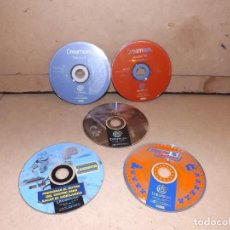Videojuegos y Consolas: DREAMCAST - SEGA - LOTE 3 JUEGOS + REGALO 2 DREAMON. Lote 219533626