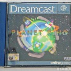 Videojuegos y Consolas: VIDEO JUEGO SEGA DREAMCAST PLANET RING. Lote 292237798