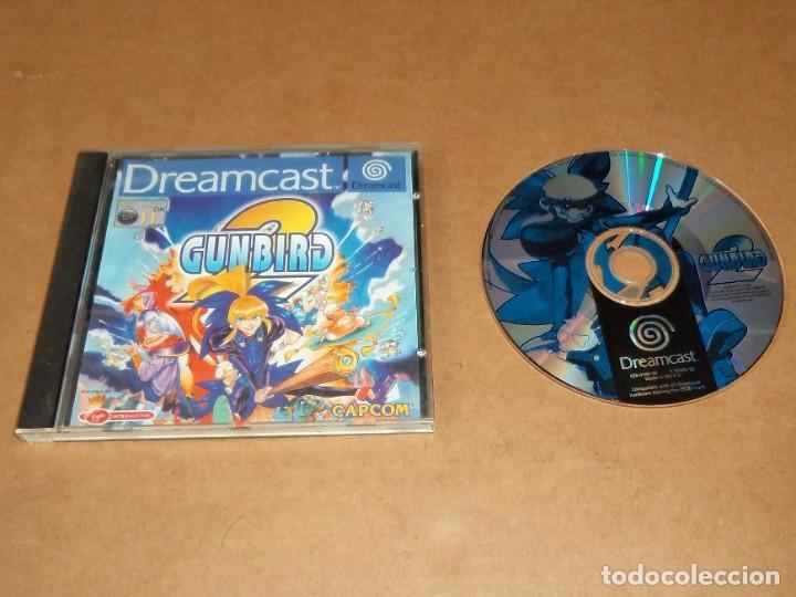 GUNBIRD 2 PARA SEGA DREAMCAST , INCOMPLETO , PAL (Juguetes - Videojuegos y Consolas - Sega - DreamCast)