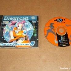 Videojuegos y Consolas: SPACE CHANNEL 5 PARA SEGA DREAMCAST , INCOMPLETO , PAL. Lote 224677757