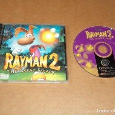 Videojuegos y Consolas: RAYMAN 2 PARA SEGA DREAMCAST , INCOMPLETO , PAL. Lote 224678030