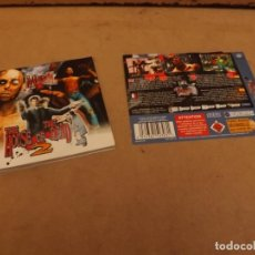 Videojuegos y Consolas: MANUAL DREAMCAST THE HOUSE OF THE DEAD 2. Lote 226081885