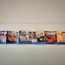Videojuegos y Consolas: FOLLETO DE JUEGOS DREAMCAST SEGA PUBLICIDAD MANUAL JUEGO CARTUCHO CONSOLA DREAM CAST. Lote 227747520