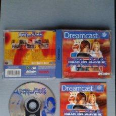Videojuegos y Consolas: SEGA DREAMCAST DEAD OR ALIVE 2 CON CAJA Y MANUAL BOXED PAL DEFECTO ESTETICO LEER R11936. Lote 228246275