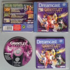 Videojuegos y Consolas: SEGA DREAMCAST GAUNTLET LEGENDS COMPLETO BOXED PAL FUNCIONANDO CON DEFECTO LEER R11937. Lote 228246440