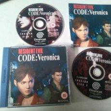 Videojuegos y Consolas: RESIDENT EVIL CODE VERONICA MIRE MIS OTROS JUEGOS. Lote 228322065