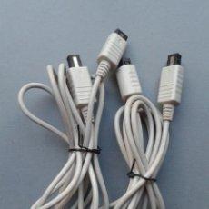 Videojuegos y Consolas: SEGA DREAMCAST PAREJA CABLES EXTENSION MANDO CONTROLLER ALARGADOR FUNCIONANDO R11949. Lote 228414725