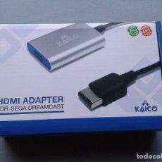 Videojuegos y Consolas: KAICO HDMI ADAPTER FOR SEGA DREAMCAST COMO NUEVO SIN USO VER FOTOS RARO!! R11950. Lote 228417315