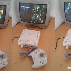 Videojuegos y Consolas: CONSOLA SEGA DREAMCAST HKT-3030 COMPLETA BUEN ESTADO PLENO FUNCIONAMIENTO PAL!!! R11951. Lote 228442275