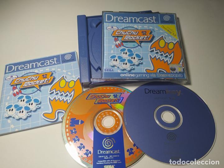 CHUCHU ROCKET! ( SEGA DREAMCAST - PAL - ESP) (Juguetes - Videojuegos y Consolas - Sega - DreamCast)