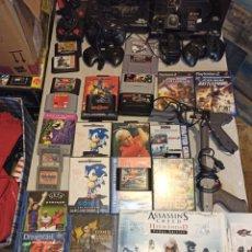 Videojuegos y Consolas: GRAN LOTE SEGA Y OTROS JUEGOS DREAM CAST XBOX. Lote 234063190