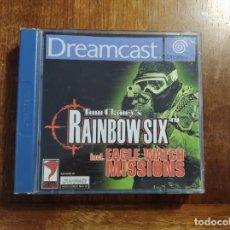 Videojuegos y Consolas: TOM CLANCY´S RAINBOW SIX DREAMCAST : USADO, COMPLETO. Lote 235980895