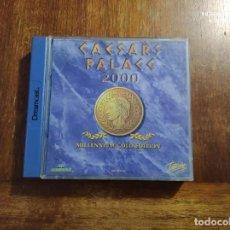 Videojuegos y Consolas: CAESARS PALACE 2000 DREAMCAST : USADO, COMPLETO, CAJA ROTA. Lote 235981700