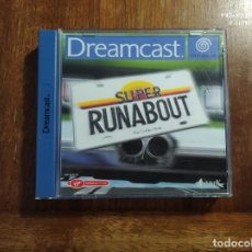 Videojuegos y Consolas: SUPER RUNABOUT DREAMCAST : USADO, COMPLETO. CAJA ROTA. Lote 235983580
