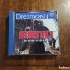 Videojuegos y Consolas: RESIDENT EVIL 3 DREAMCAST : USADO, CD IMPECABLE CAJA ROTA. Lote 235983870