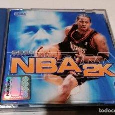 Videojuegos y Consolas: SEGA DREAMCAST NBA 2K SOLO CAJA Y MANUALES. Lote 236263740