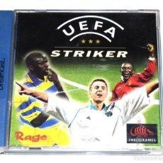 Videojuegos y Consolas: JUEGO SEGA DREAMCAST UEFA STRIKER. Lote 238240010