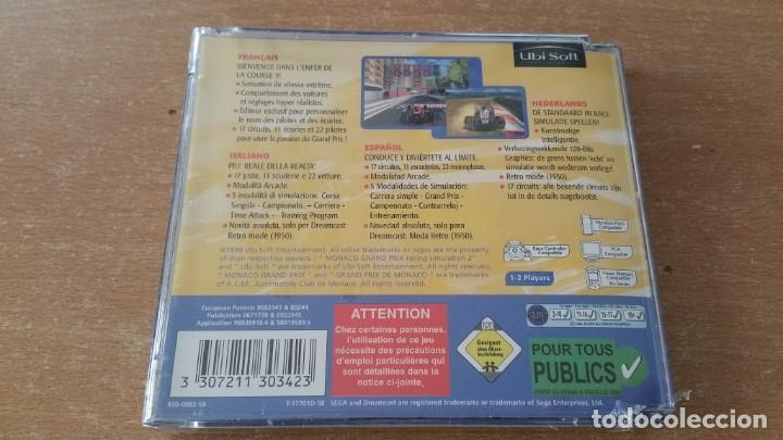 Videojuegos y Consolas: MONACO GRAND PRIX 2 RACING SIMULATION DREAMCAST PAL ESPAÑA PRECINTADO - Foto 2 - 238351805