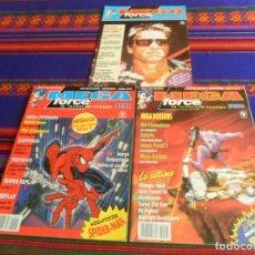 Videojuegos y Consolas: LA REVISTA DE LOS JUEGOS SEGA MEGA FORCE NºS 1 Y 6 CON PÓSTER Y FLYER CON REGALO. 1992. MBE. RARAS.. Lote 238549500