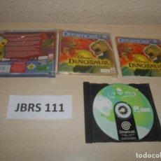 Videojuegos y Consolas: DREAMCAST - DINOSAUR , PAL ESPAÑOL , COMPLETO. Lote 240919730