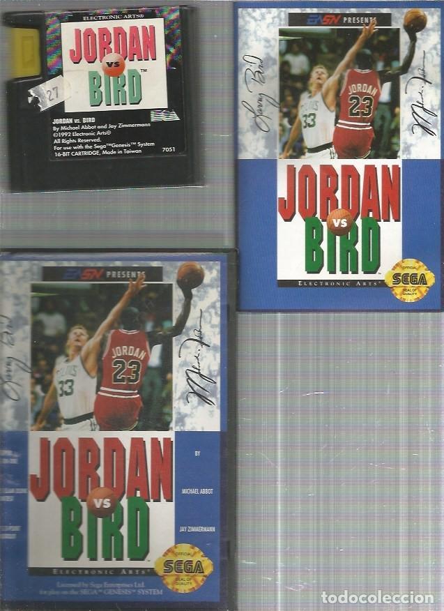 JORDAN VS BIRD SEGA GENESIS COMPLETO (Juguetes - Videojuegos y Consolas - Sega - DreamCast)