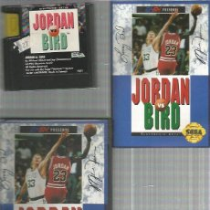Videojuegos y Consolas: JORDAN VS BIRD SEGA GENESIS COMPLETO. Lote 241412135