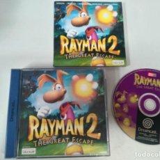 Videojuegos y Consolas: RAYMAN 2 DREAMCAST ENTRE Y MIRE MIS OTROS JUEGOS!!. Lote 242199070