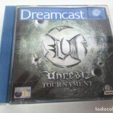 Videojuegos y Consolas: UNREAL TOURNAMENT DREAMCAST ENTRE Y MIRE MIS OTROS JUEGOS!!. Lote 242203995