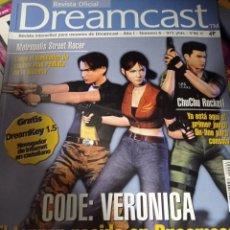 Videojuegos y Consolas: REVISTA OFICIAL DREAMCAST Nº 6 RESIDENT EVIL - CODE : VERONICA. Lote 263096275