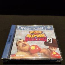 Videojuegos y Consolas: JUEGO READY 2 RUMBLE BOXING ROUND 2 PARA SEGA DREAMCAST. FUNCIONA. CON MANUAL. CAJA EN BUEN ESTADO. Lote 243047520