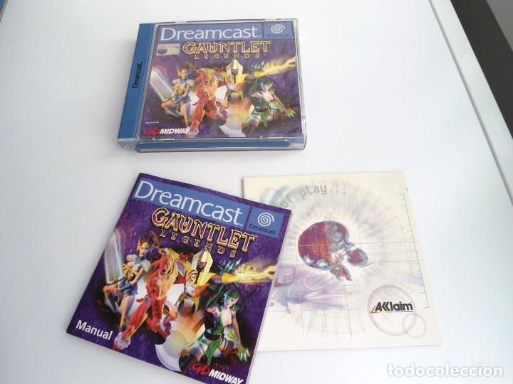GAUNTLET LEGENDS - VERSIÓN PAL ESPAÑA - DREAMCAST - JUEGO COMPLETO - EXCELENTE ESTADO (Juguetes - Videojuegos y Consolas - Sega - DreamCast)