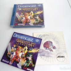 Videojuegos y Consolas: GAUNTLET LEGENDS - VERSIÓN PAL ESPAÑA - DREAMCAST - JUEGO COMPLETO - EXCELENTE ESTADO. Lote 241012030