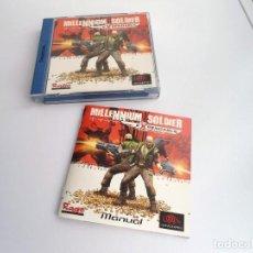 Videojuegos y Consolas: MILLENNIUM SOLDIER EXPENDABLE - VERSIÓN PAL ESPAÑA - DREAMCAST - JUEGO COMPLETO - EXCELENTE ESTADO. Lote 241025525