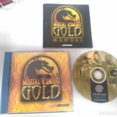Videojuegos y Consolas: MORTAL KOMBAT GOLD DREAMCAST ENTRE Y MIRE MIS OTROS JUEGOS DE OTRAS CONSOLAS RETRO.. Lote 243469595