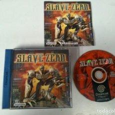Videojuegos y Consolas: SLAVE ZERO PARA SEGA DREAMCAST ENTRE Y MIRE MIS OTROS JUEGOS!. Lote 245287115