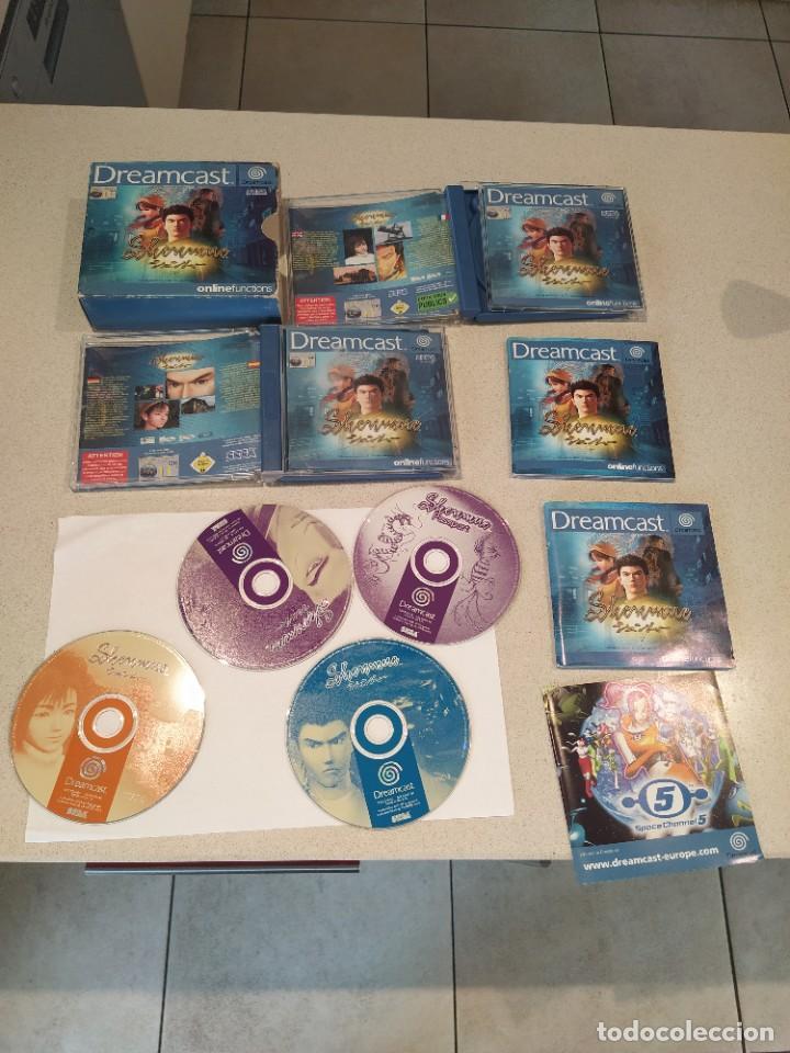 SHENMUE SEGA DREAMCAST PAL-EUROPA COMPLETO (Juguetes - Videojuegos y Consolas - Sega - DreamCast)