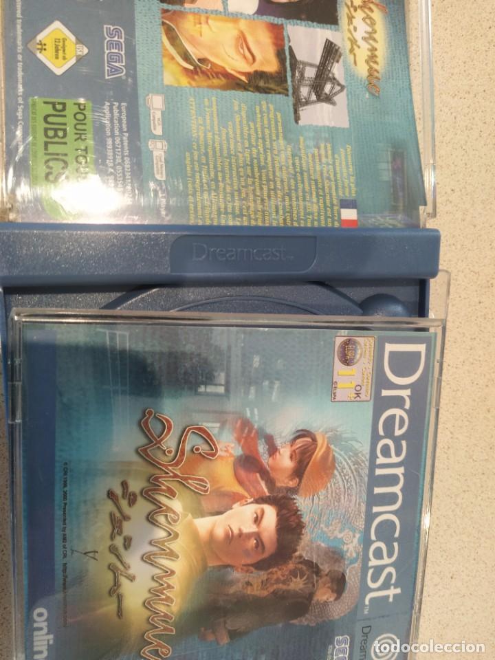 Videojuegos y Consolas: SHENMUE SEGA DREAMCAST PAL-EUROPA COMPLETO - Foto 4 - 247249050