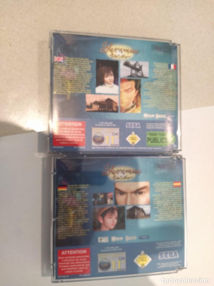 Videojuegos y Consolas: SHENMUE SEGA DREAMCAST PAL-EUROPA COMPLETO - Foto 6 - 247249050