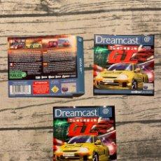 Videojuegos y Consolas: SEGA GT DREAMCAST PAL ESPAÑA. Lote 247461175