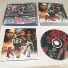 Videojuegos y Consolas: THE HOUSE OF THE DEAD 2 II SEGA DREAMCAST PAL-EUROPA COMPLETO. Lote 247705150