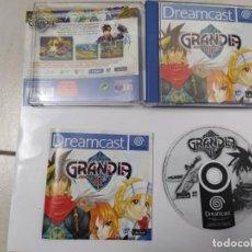 Videojuegos y Consolas: GRANDIA 2 II SEGA DREAMCAST COMPLETO PAL-UK ORIGINAL 100% DC. Lote 247766795