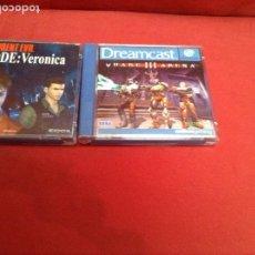 Videojuegos y Consolas: 2 VÍDEO JUEGOS DE DREAMCAST , BUENAS CONDICIONES. Lote 248092850