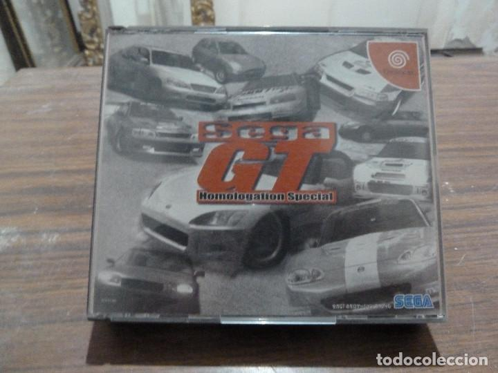 SEGA GT PARA DREAMCAST (Juguetes - Videojuegos y Consolas - Sega - DreamCast)