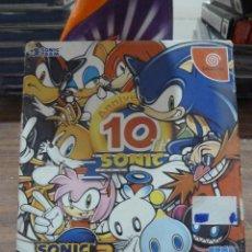 Videojuegos y Consolas: SONIC ADVENTURE SONIC THE HEDGEHOG BIRTHDAY PACK 10º ANIVERSARIO. Lote 257909660