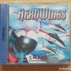 Videojuegos y Consolas: AEROWINGS DREAMCAST PAL ESPAÑA, NUEVO PRECINTADO. Lote 261102650
