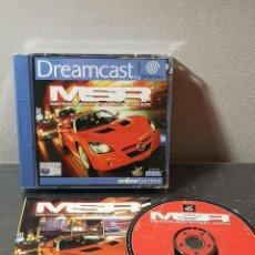 Videojuegos y Consolas: SEGA DREAMCAST MSR METRÓPOLIS STREET RACER. Lote 261126700